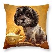 Bella's Biscotti Throw Pillow