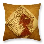 Belle - Tile Throw Pillow
