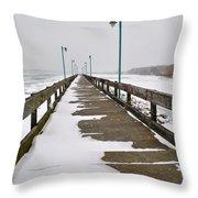 Belle Isle Bridge Throw Pillow