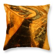 Belle Ms Miss - Tile Throw Pillow