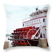 Belle Of Louisville Throw Pillow