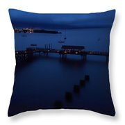 Bellingham Bay Throw Pillow