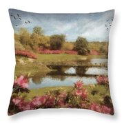 Bellingrath Gardens Throw Pillow