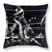 Bellows: Dempsey, 1924 Throw Pillow
