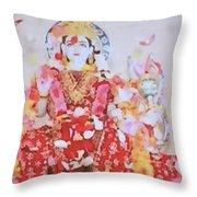 Beloved Lakshimi Throw Pillow