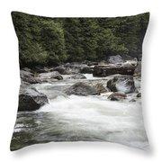 Below The Torrent   Throw Pillow
