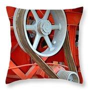 Belt Drive Throw Pillow
