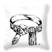 Belt Of Truth Throw Pillow