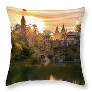 Belvedere Castle Throw Pillow