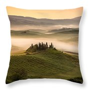 Belvedere Toscany Throw Pillow