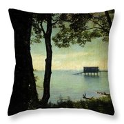 Bembridge Lifeboat Station  Throw Pillow