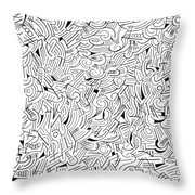 Bemused Throw Pillow
