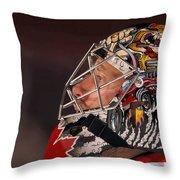 Ben Bishop Throw Pillow