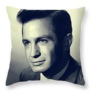 Ben Gazarra, Vintage Actor Throw Pillow