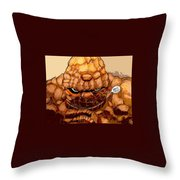Ben Grimm  Throw Pillow