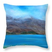 Ben More On Mull Throw Pillow