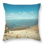 Ben Nevis Cairn Throw Pillow