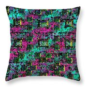 Bending Color And Light #2 Throw Pillow