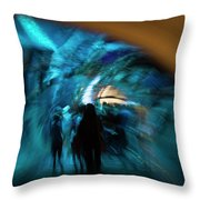 Beneath And Beyond Throw Pillow