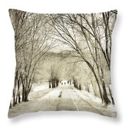 Beneath The Branches Throw Pillow