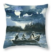 Beneath The Stars Throw Pillow