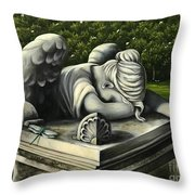 Beneath The Wings Throw Pillow
