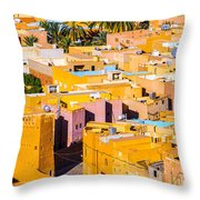 Beni Isguen Houses From The Watch Tower Throw Pillow
