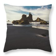 Benijo Beach Throw Pillow