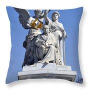 Benito Juarez Hemicycle 2 Throw Pillow