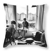 Benjamin Britten Throw Pillow
