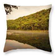 Bennett Springs Reflections Throw Pillow