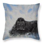 Bennies Love Throw Pillow
