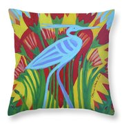 Bennu II Throw Pillow