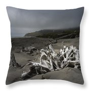 Benson Beach Throw Pillow