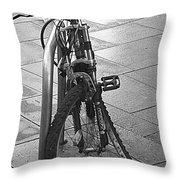 Bent Wheel Throw Pillow
