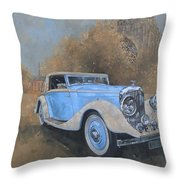 Bentley By Kellner Throw Pillow