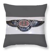 Bentley In Pink Throw Pillow