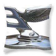 Bentley Logo Throw Pillow