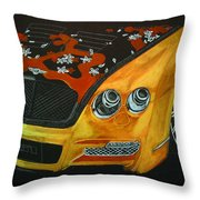Bentley W66gts Throw Pillow