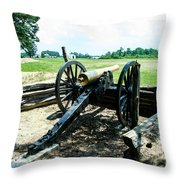 Bentonville Nc Confederate Artillery Throw Pillow
