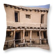 Bent's Old Fort Throw Pillow