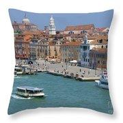 Benvenuto Venice Throw Pillow