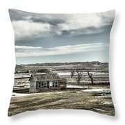 Bereft In The Desolation Throw Pillow