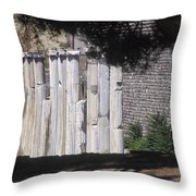 Bergama Asklepion Colonnade  Throw Pillow