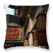 Berghoff Bar Throw Pillow