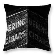 Bering Cigar Factory Throw Pillow