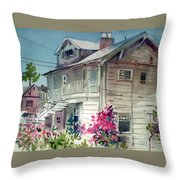 Berkeley House Throw Pillow