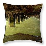 Berkley Pier California Throw Pillow