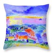 Berkshire Hills Throw Pillow
