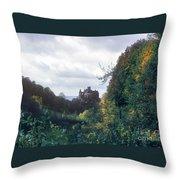 Berlepsch Castle Throw Pillow